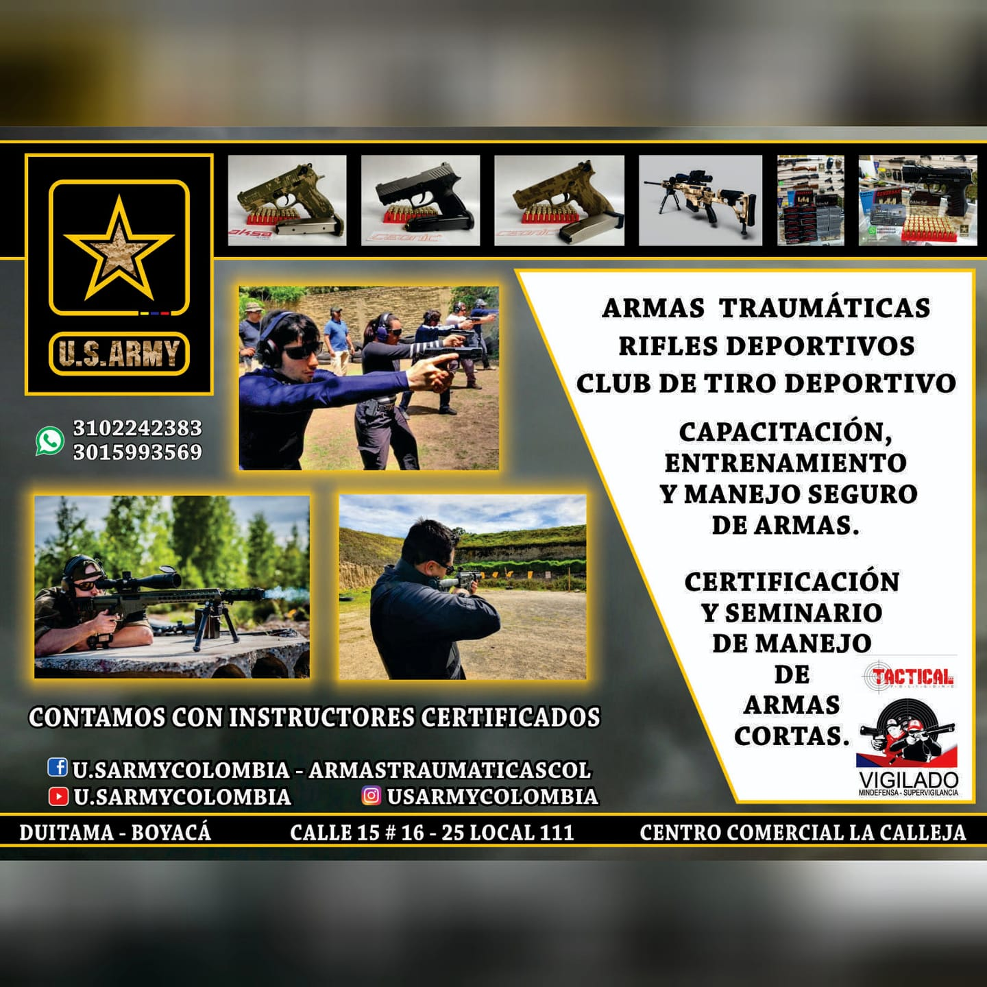 U.S. ARMY COLOMBIA